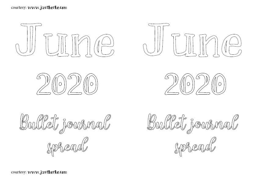 June spread andscape creative