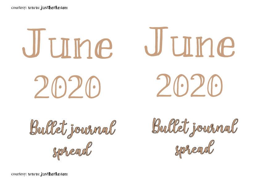 June spread andscape